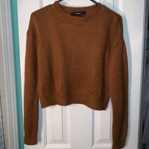 forever 21 rust colored sweater